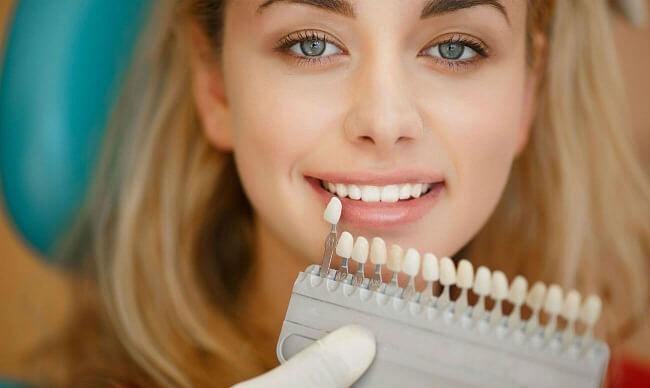 Как изменить цвет зубной коронки